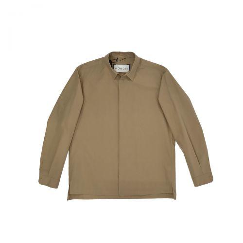 Monobi Camicie Uomo Sabbia 10569112