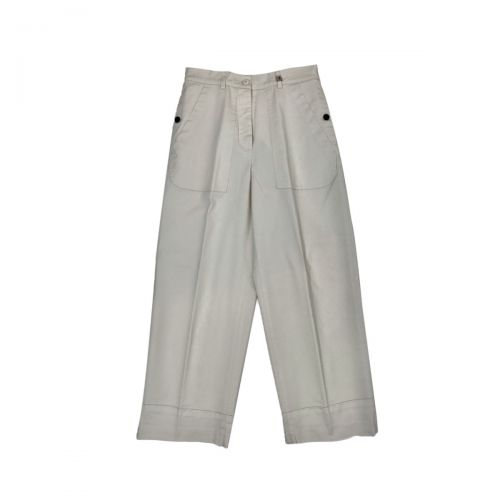 Myths Pantaloni Donna Bianco 21SD0170