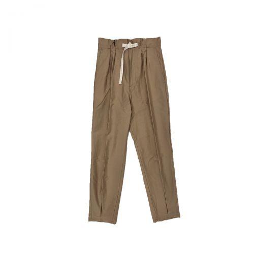 White Sand Pantaloni Donna Beige 21SD09330