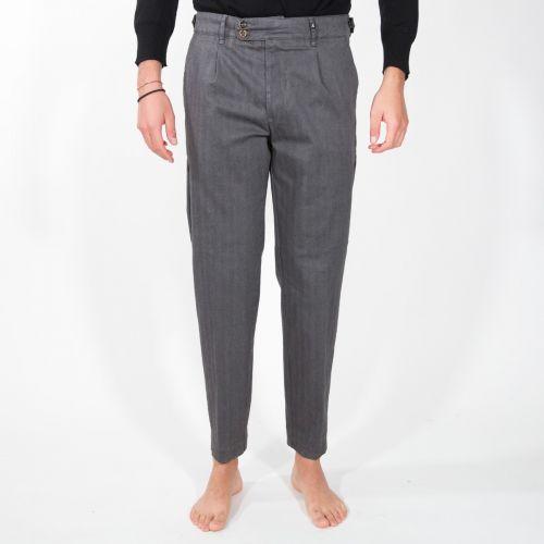 Myths Pantaloni Uomo Grigio 20WM18L46