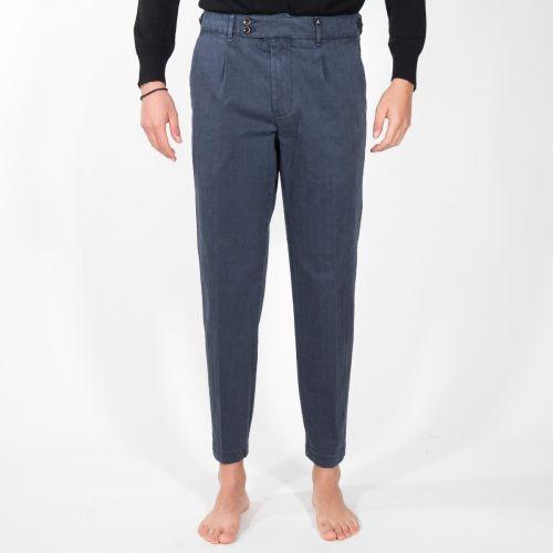 Myths Pantaloni Uomo Blu 20WM18L46