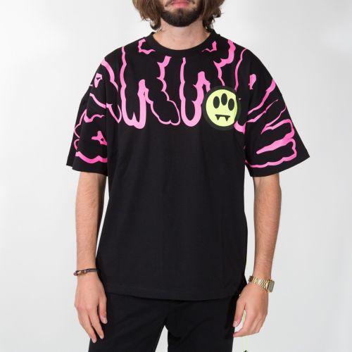 t-shirt Uomo Nero 027992