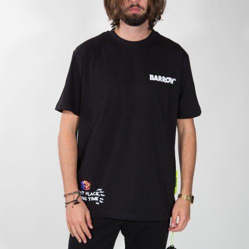 t-shirt Uomo Nero 028002