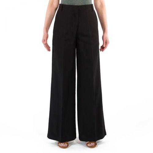 8 Pm Pantaloni Donna Nero D8PM11P133