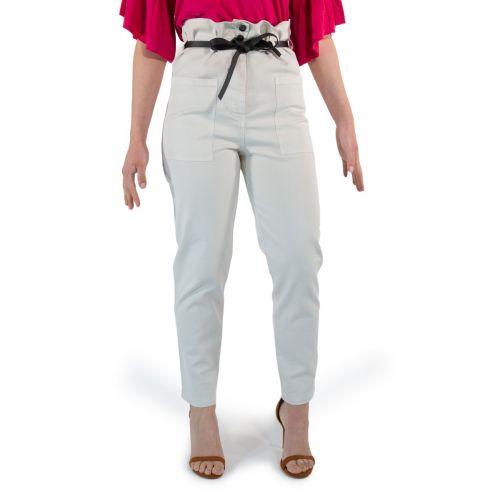 8 Pm Pantaloni Donna Beige D8PM11P14
