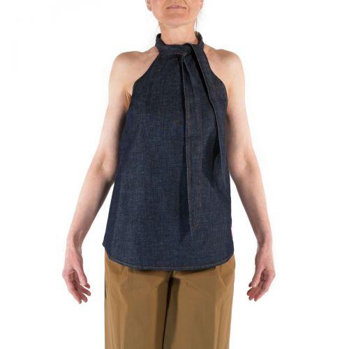 Department 5 Camicie Donna Blu DO5052DF0002