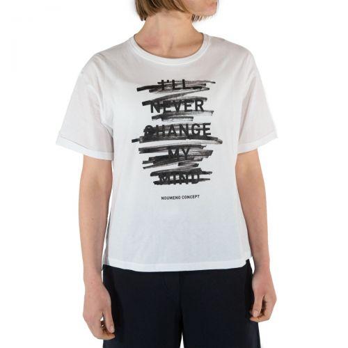 Nou- Noumeno Concept T-shirt Donna Bianco T2460073