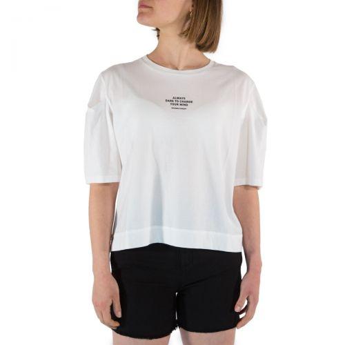 Nou- Noumeno Concept T-shirt Donna Bianco T2160074