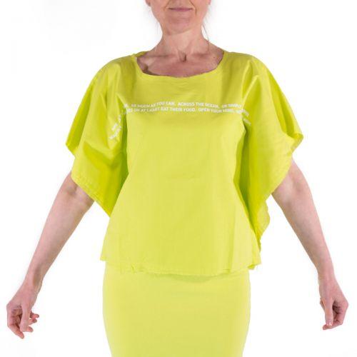 Nou- Noumeno Concept T-shirt Donna Cedro T1860040