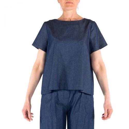 Niu' Camicie Donna Blu 606T109
