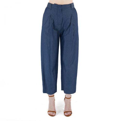 Niu' Pantaloni Donna Blu 201T109