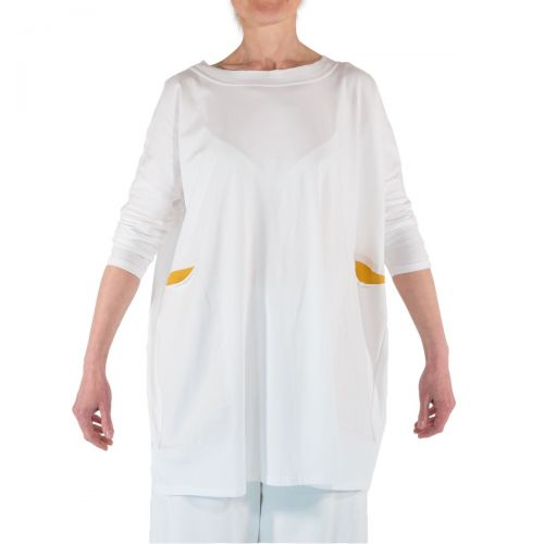 Corinna Caon Maglieria Donna Bianco 211114J1