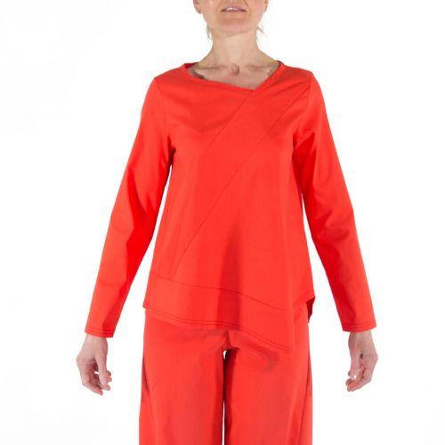 Corinna Caon Maglieria Donna Rosso 211107B0