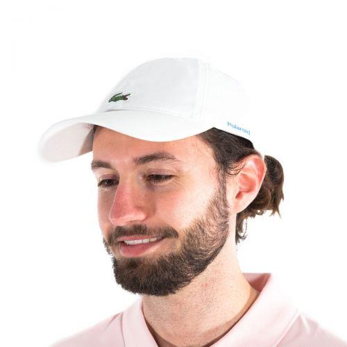 Lacoste Cappelli Uomo Bianco RK3381