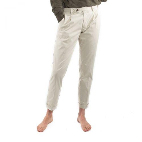 Myths Pantaloni Uomo Latte 21M19L68
