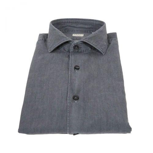 Camicie Uomo Grigio 722ML71152