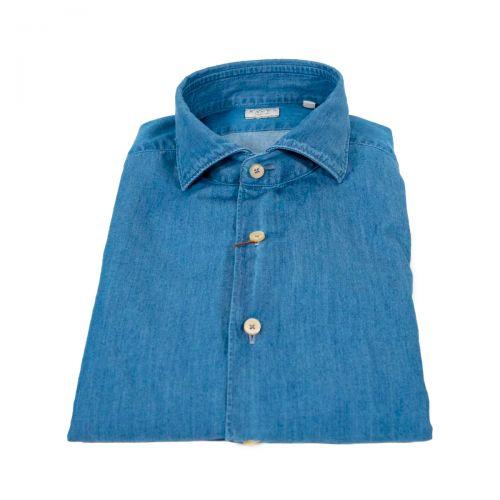 Camicie Uomo Blu marine 722ML11296
