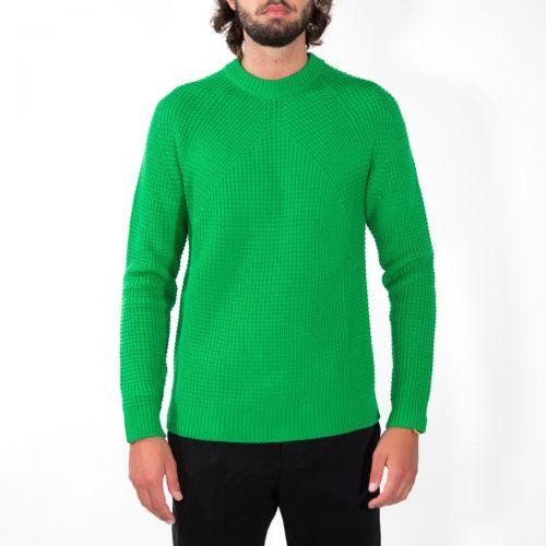 Maglieria Uomo Verde RD02501
