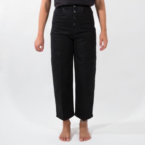 Pantaloni Donna Nero D21P78T2101