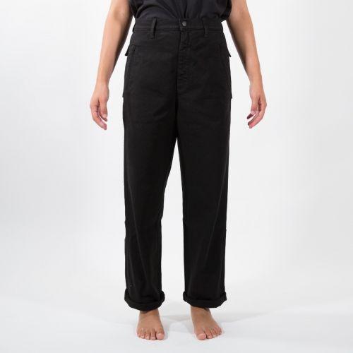Pantaloni Donna Nero D21D77T2120