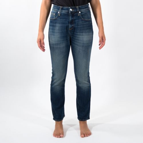 Pantaloni Donna Blu D00D63D2103