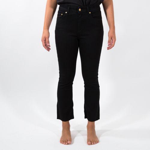 Pantaloni Donna Nero D00D63D0012