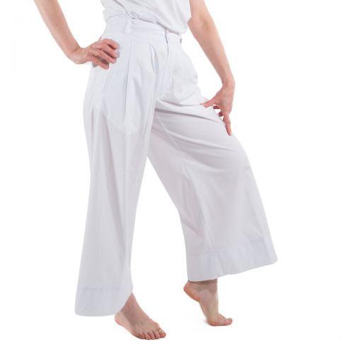 Myths Pantaloni Donna Bianco 21D0367