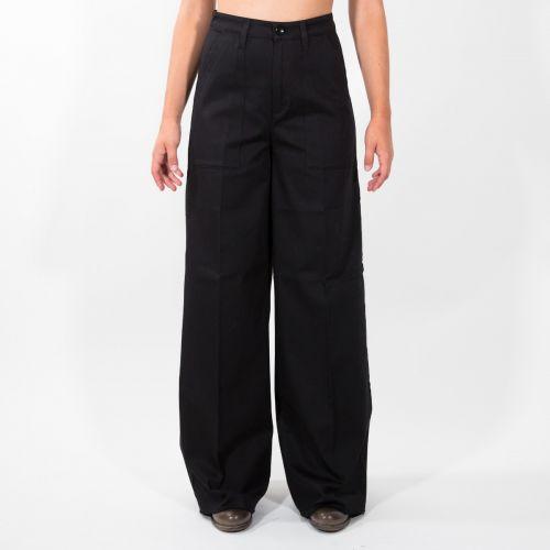 Pantaloni Donna Nero D21P61F2131