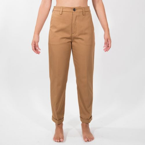 Pantaloni Donna Cammello D21P54F2131