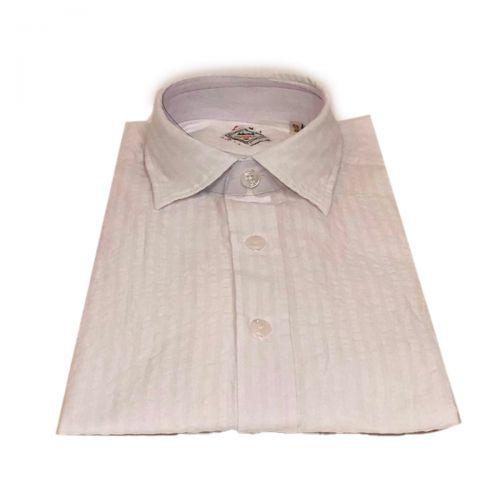 Xacus Camicie Uomo Bianco 428ML81235