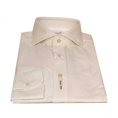 Xacus Camicie Uomo Bianco 520AC11460