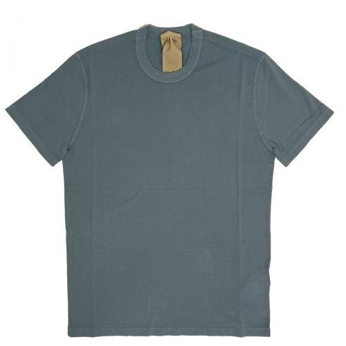Ten-c T-shirt Uomo Celeste CUH2135