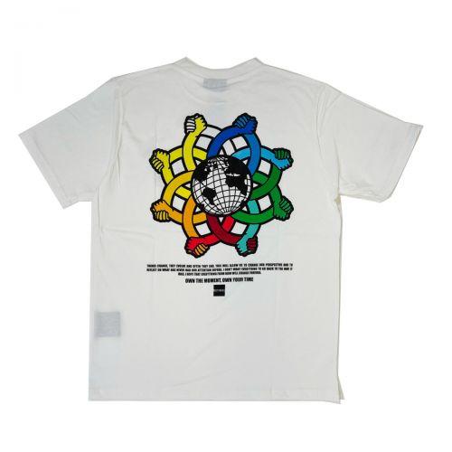 Outhere T-shirt Uomo Bianco 11M132