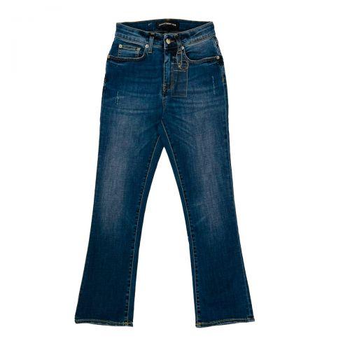 Department 5 Pantaloni Donna Blu DP5632DS0003