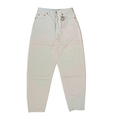 Department 5 Pantaloni Donna Bianco DP5871DF0002
