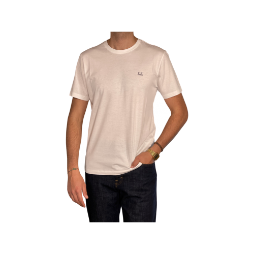 C.p. Company T-shirt Uomo Bianco TS040A5100W