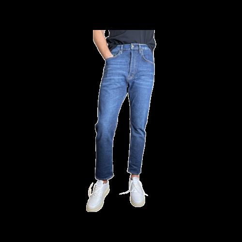 Haikure Jeans Uomo Denim Scuro 03198DS063