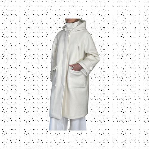 Palto' Cappotto Donna Bianco PDROSSBOI