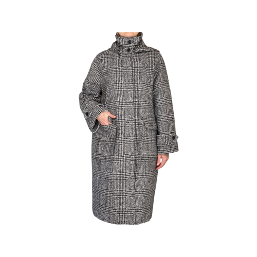 Palto' Cappotto Donna Boucle' ROSSPDB