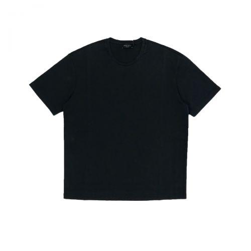 Roberto Collina T-shirt Uomo Nero RE65021