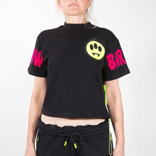 Barrow T-shirt Donna Nero 028027