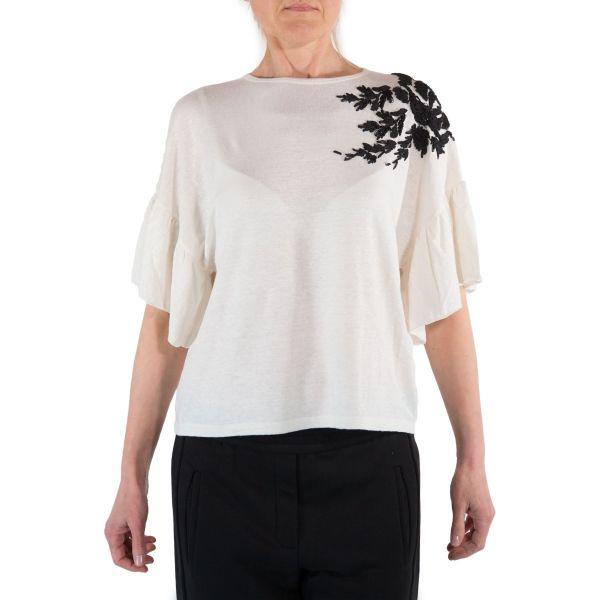 8 Pm T-shirt Donna Latte D8PM11M147