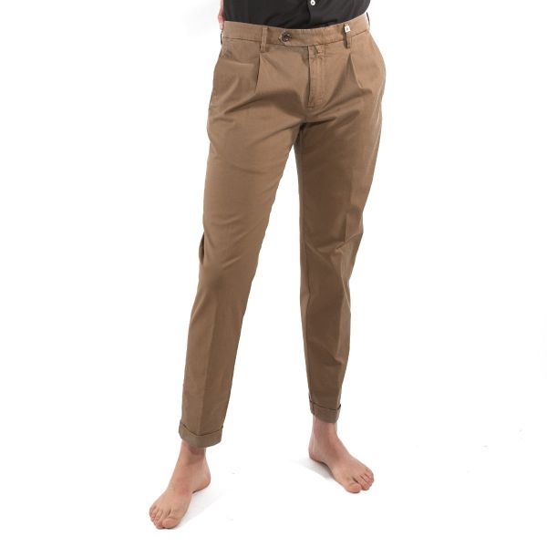 Myths Pantaloni Uomo Marrone 21M19L46